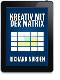"""Titelbild """"Kreativ mit der Matrix"""" von Richard Norden"""